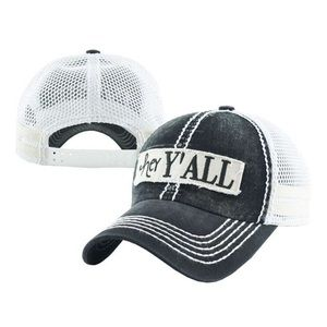 Accessories - Hey y'all truck or baseball hat 2 colors